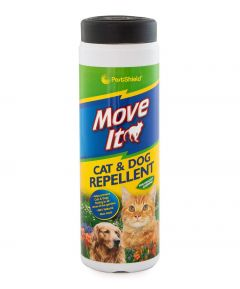 PestShield Move It! Cat & Dog Repellent 240g