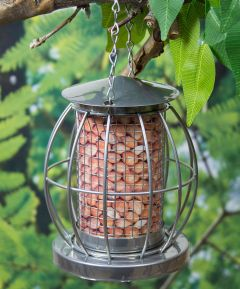 Bird Feeders Mini Caged Nut Feeder