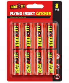 Beat It! Flying Insect Catcher Pack of 8