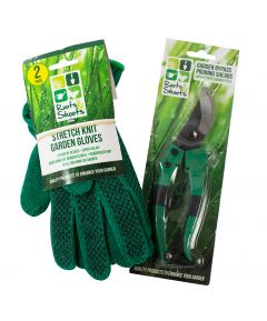Gloves and Pruning Shears
