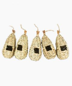 Straw Pocket Nests Pack of 5