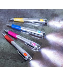 Set of 4 Pens With Light