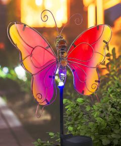 Solar LED Butterfly on Stake