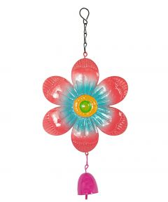 Hanging Flower with Bell Set of 2