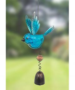 Blue Bird Wind Chime