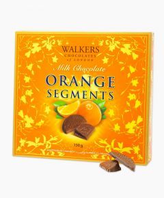 Walkers Milk Chocolate Orange Segments 150g