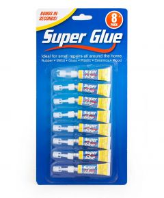 Super Glue Pack of 8