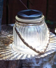 Glass Solar Lamp