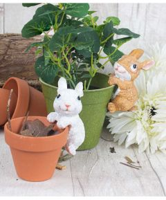 Bunny Rabbit Pot Hangers (Set of 2)