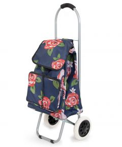 Floral Shopping Trolley