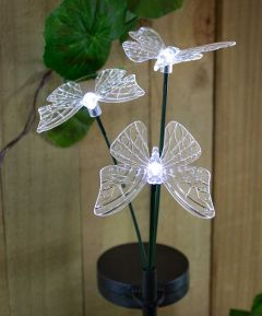 Butterfly Stake Lights x4