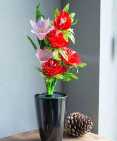 Fibre Optic Flower - Freesias & Poppies