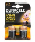 Pack of 4 Duracell C Batteries