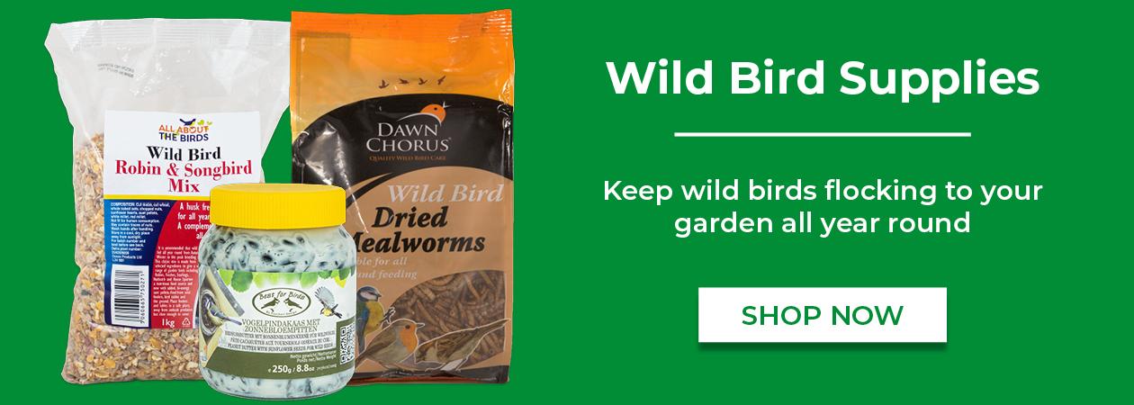 Shop Wild Bird Supplies